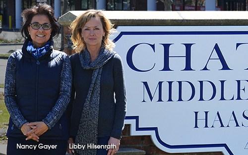 Nancy Gayer and Libby Hilsenrath